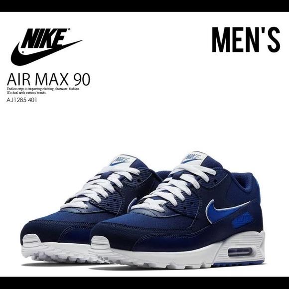 Air Max 90 Essential 'Blue Void' Nike AJ1285 401 | GOAT